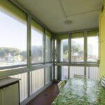 ampio balcone angolare